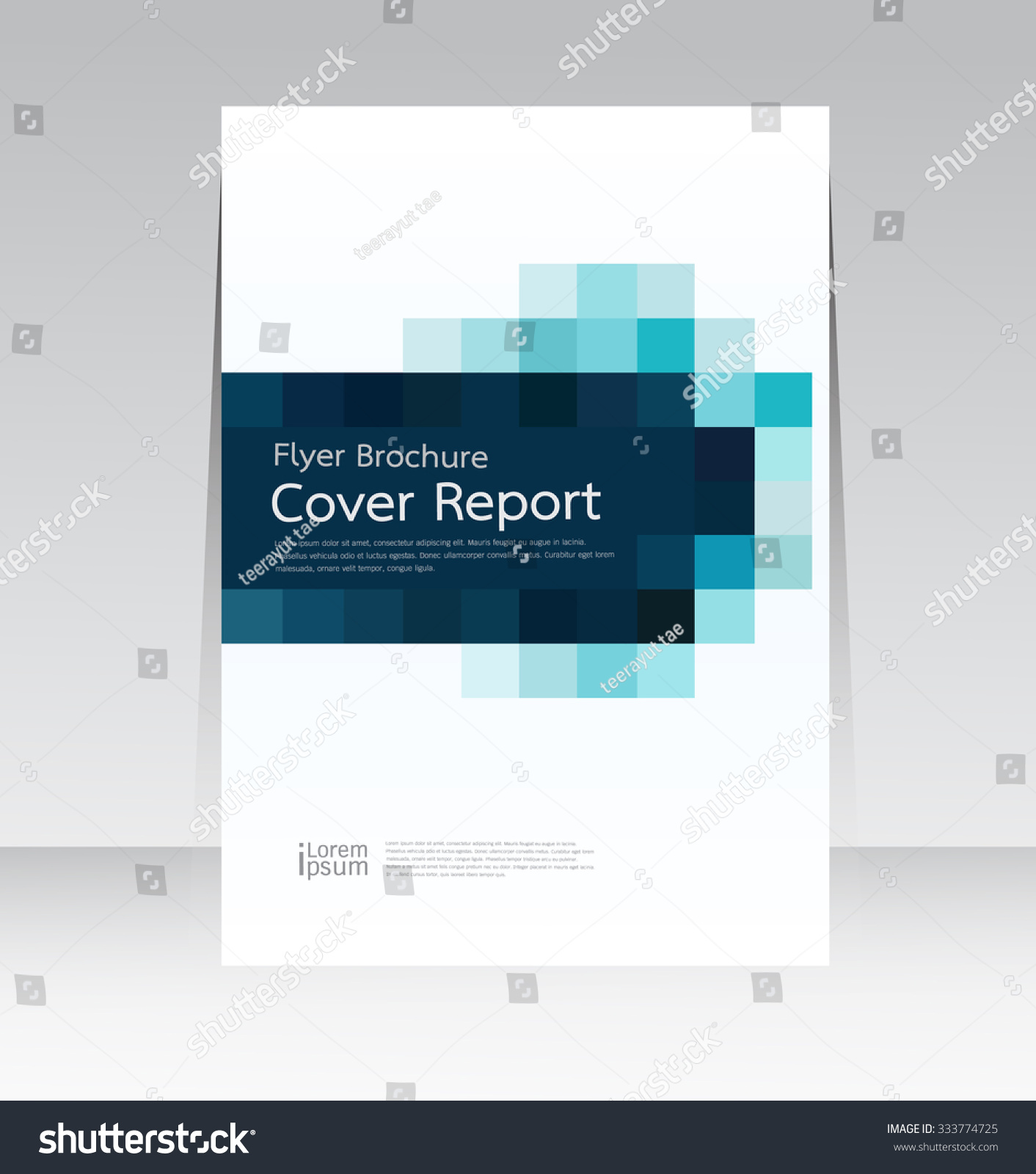 Poster design size - Vector Design For Cover Report Annual Flyer Poster In A4 Size