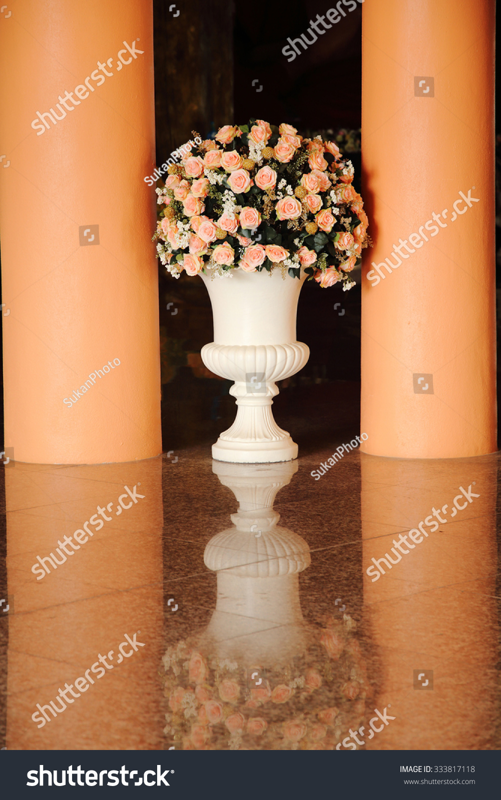 Large flower vase reflect on floor stock photo 333817118 large flower vase reflect on floor stock photo 333817118 shutterstock reviewsmspy