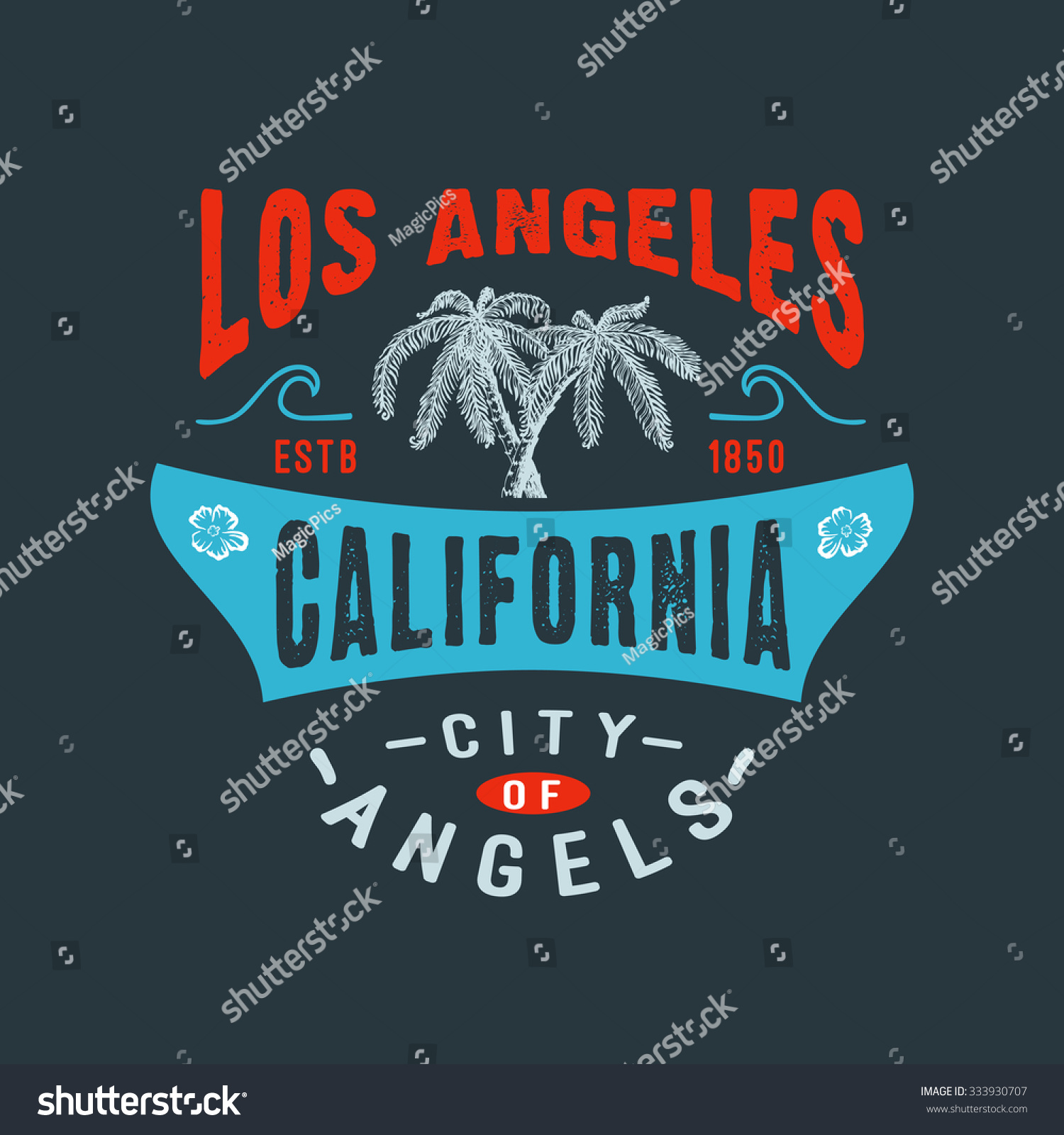 71 City Of Angels Los Angeles California Handmade Palms