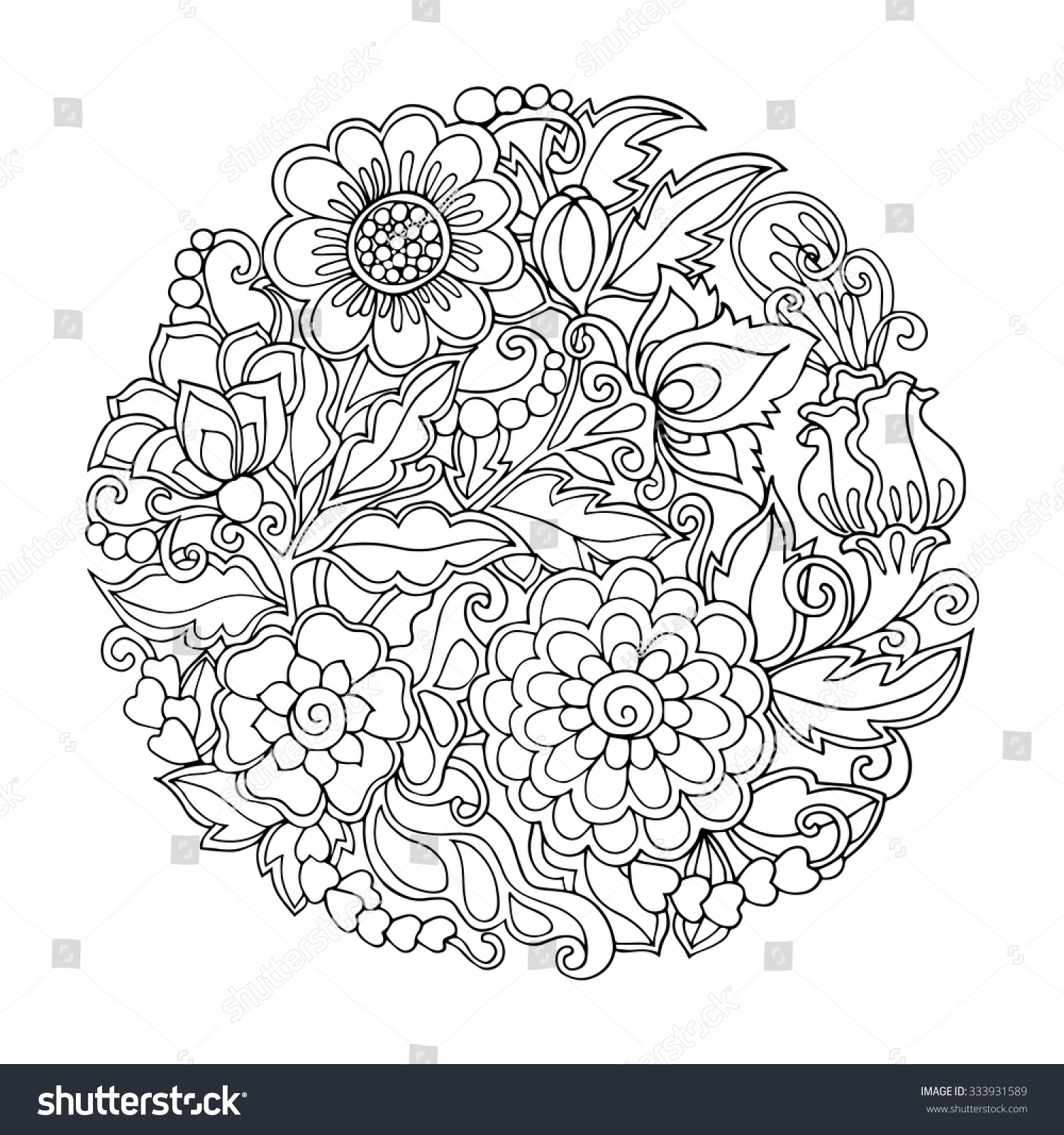coloring book older children coloring stock vector 333931589