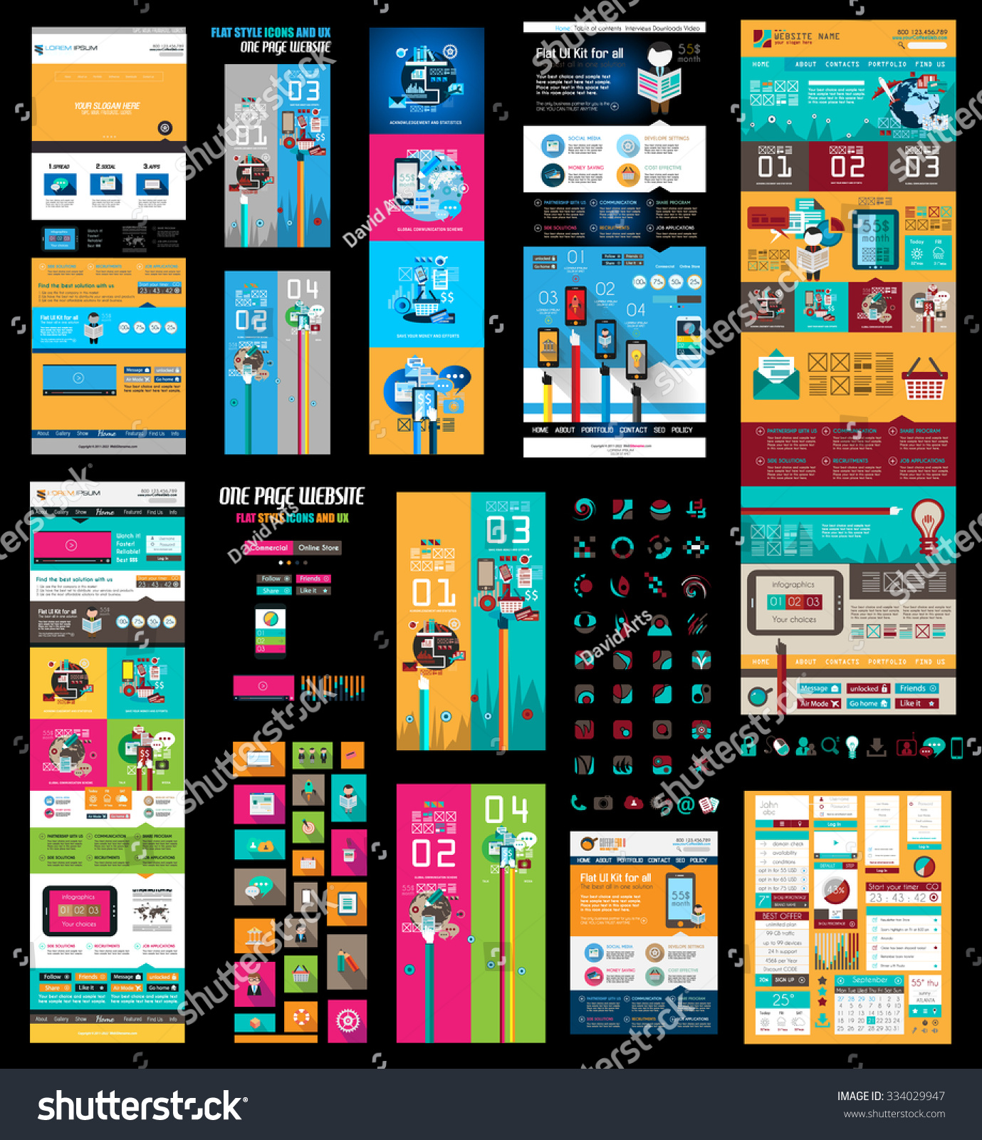 html header menu templates - mega collection of website templates web headers footers