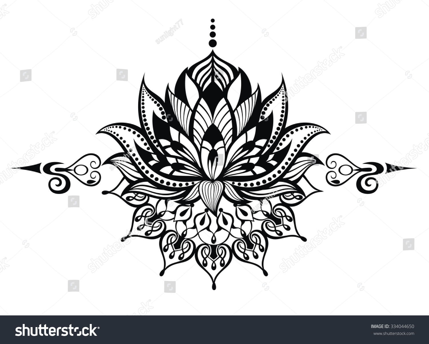 Lotus flower tattoo - Lotus Flower Tattoo