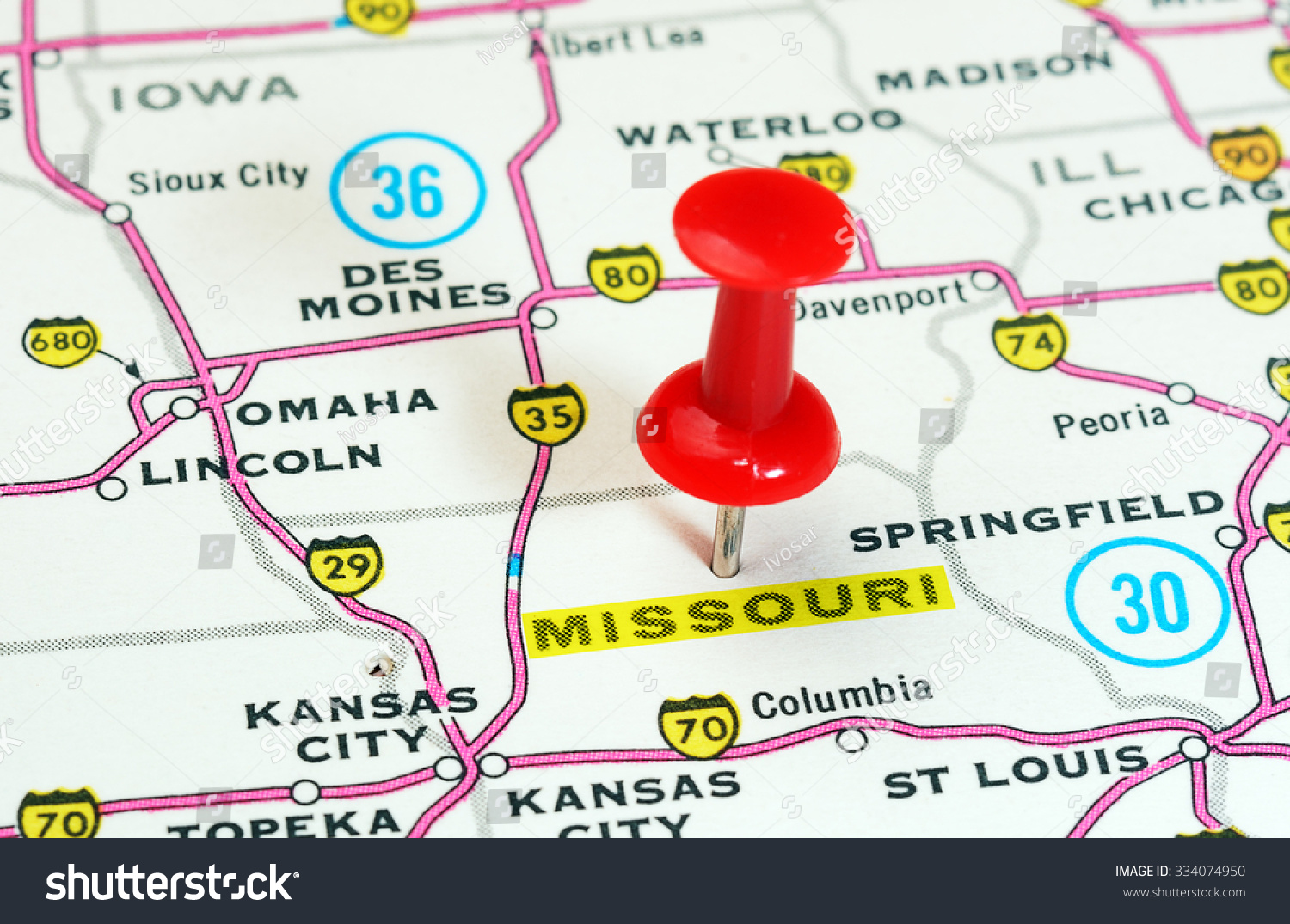 Close Missouri State Usa Map handheld projector free house