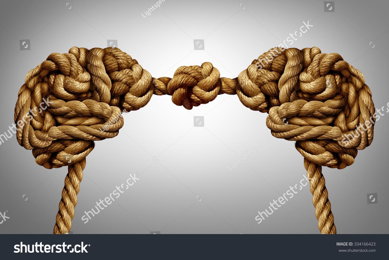 Royalty Free Stock Illustration Of United Thinking Concept Alliance