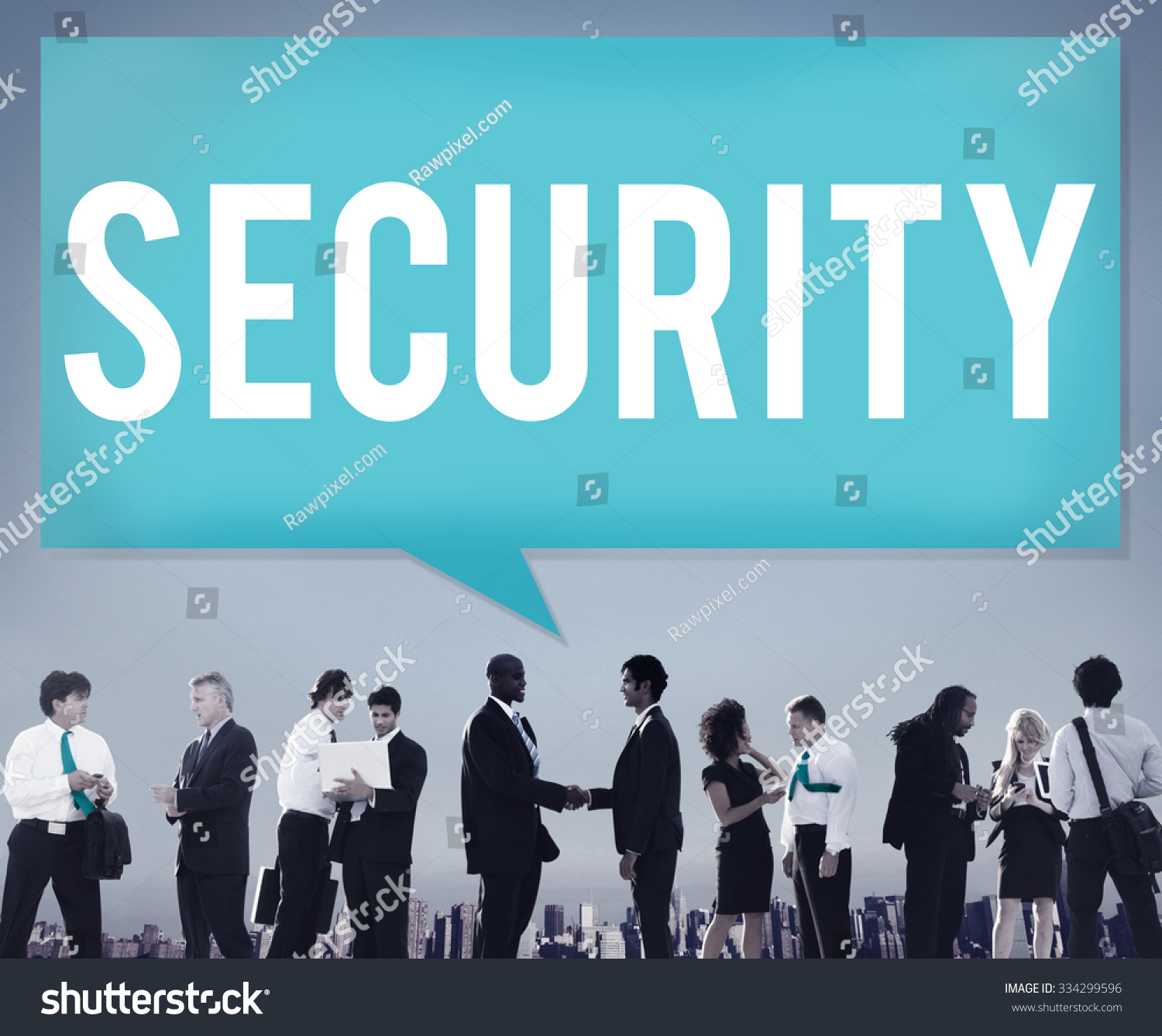 Security Data Protection Privacy Policy Concept Stock Photo Edit And