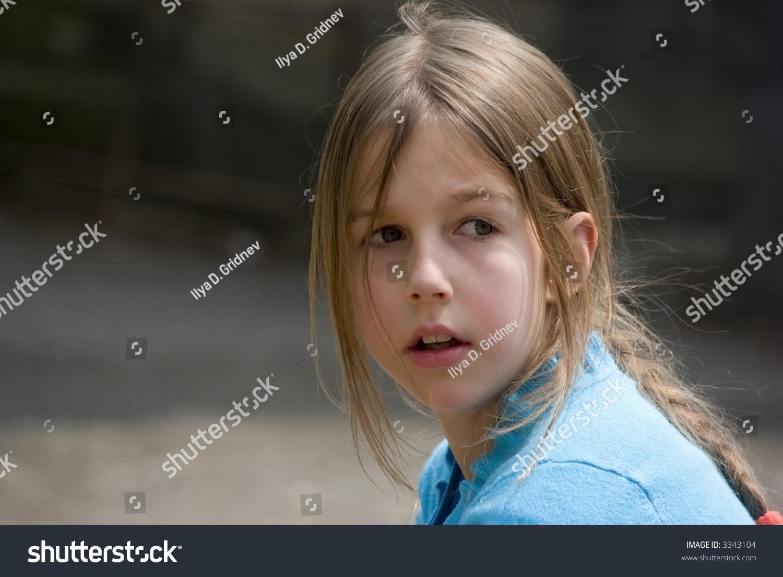 Portrait Of Beautiful Teen Model 85