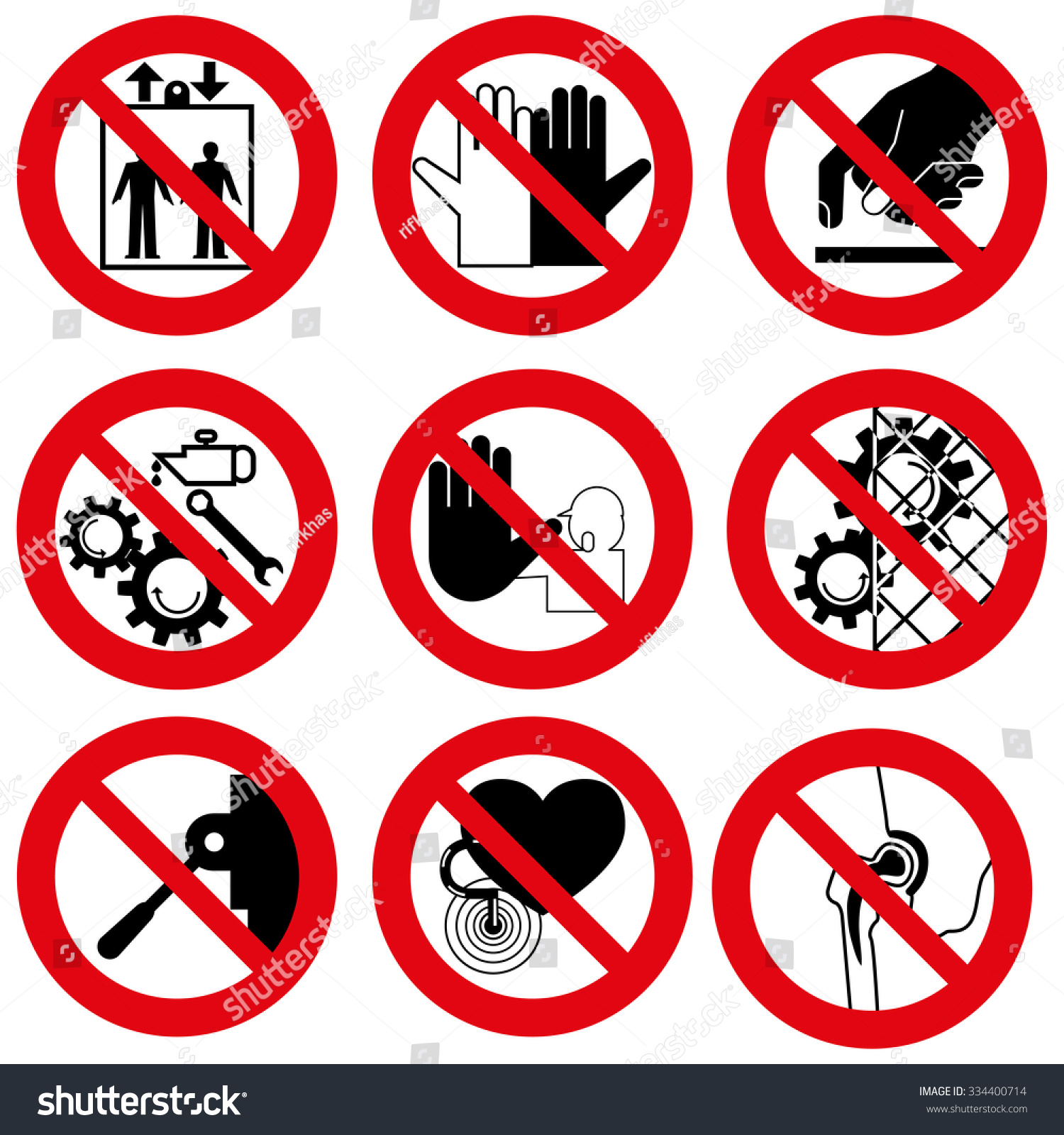 Prohibited Signs Symbols Images Meaning Of Text Symbols