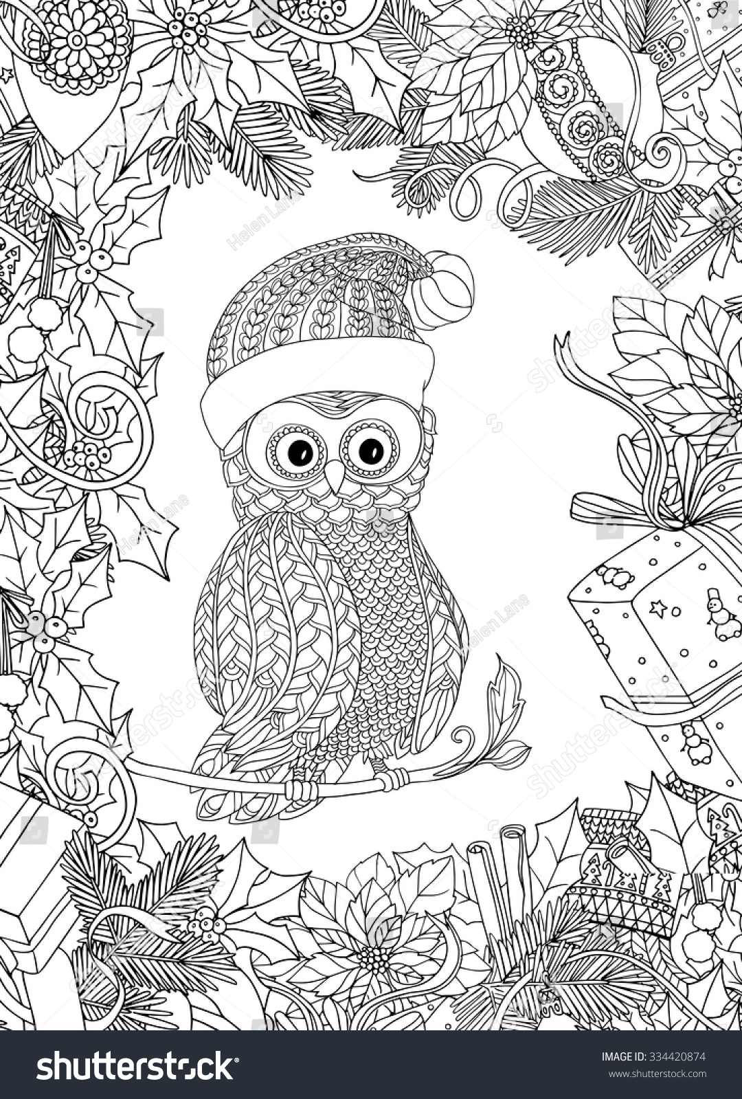 christmas coloring pages for older kids photo 17