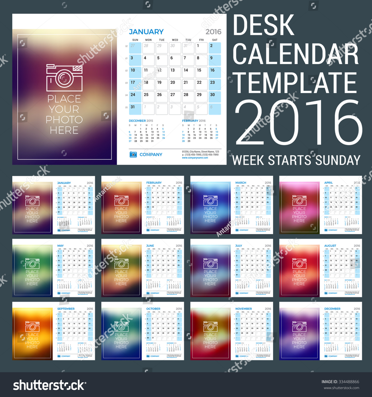 size large with desk premium big calendar planner planning calendars flip tent