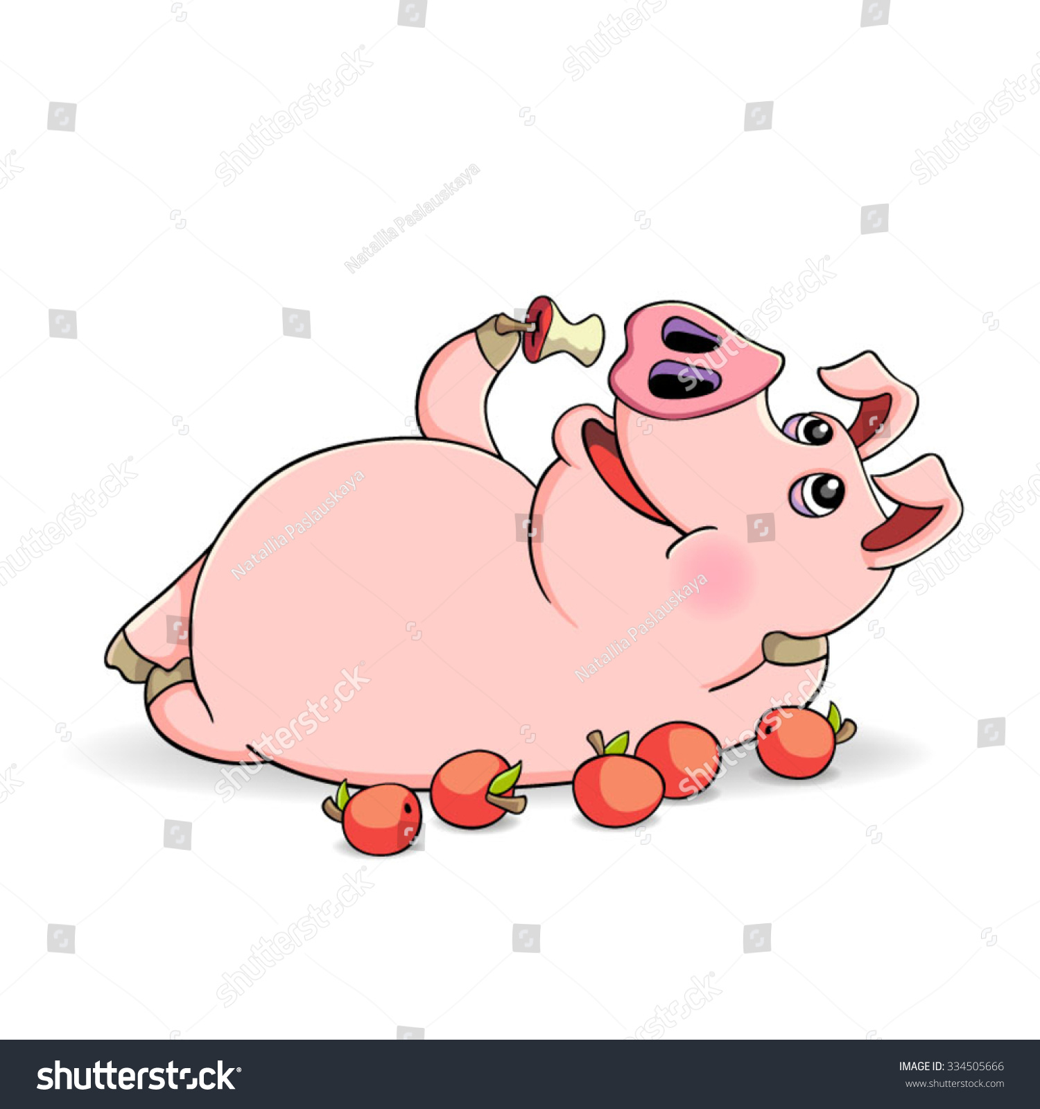 animals eating clipart - photo #34