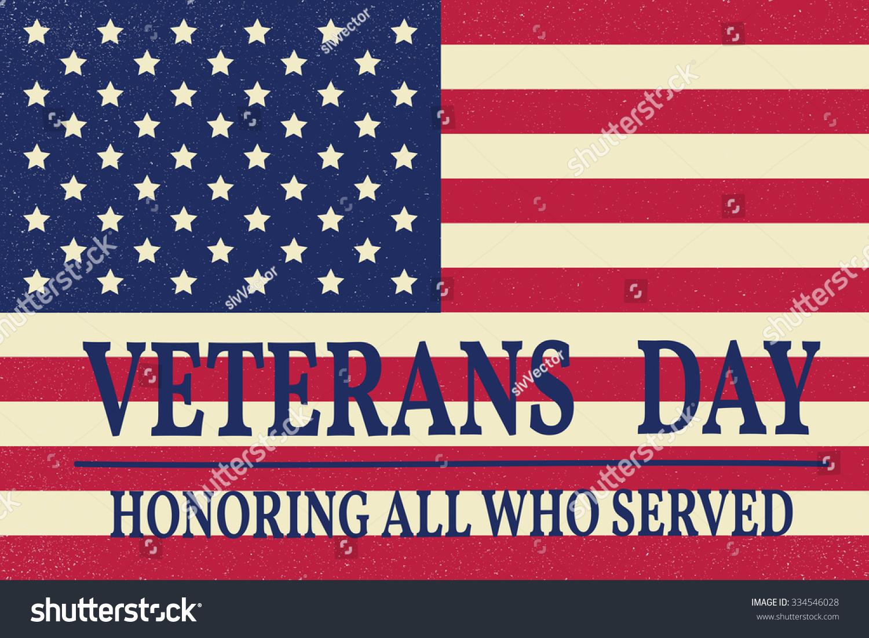 Happy veterans day greeting card vector illustration ez canvas id 334546028 m4hsunfo