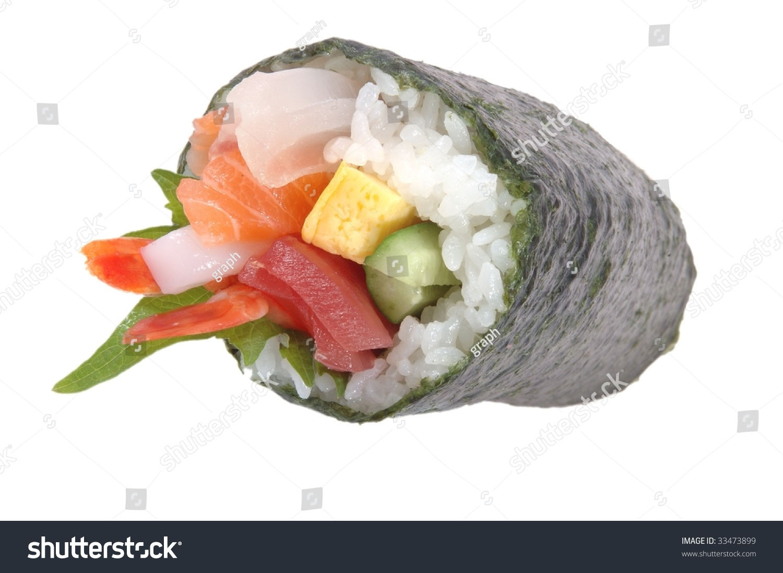 Hand Roll (Temaki) Recipe — Dishmaps