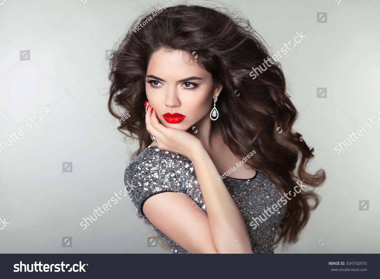 earrings girl hair makeup - photo #30