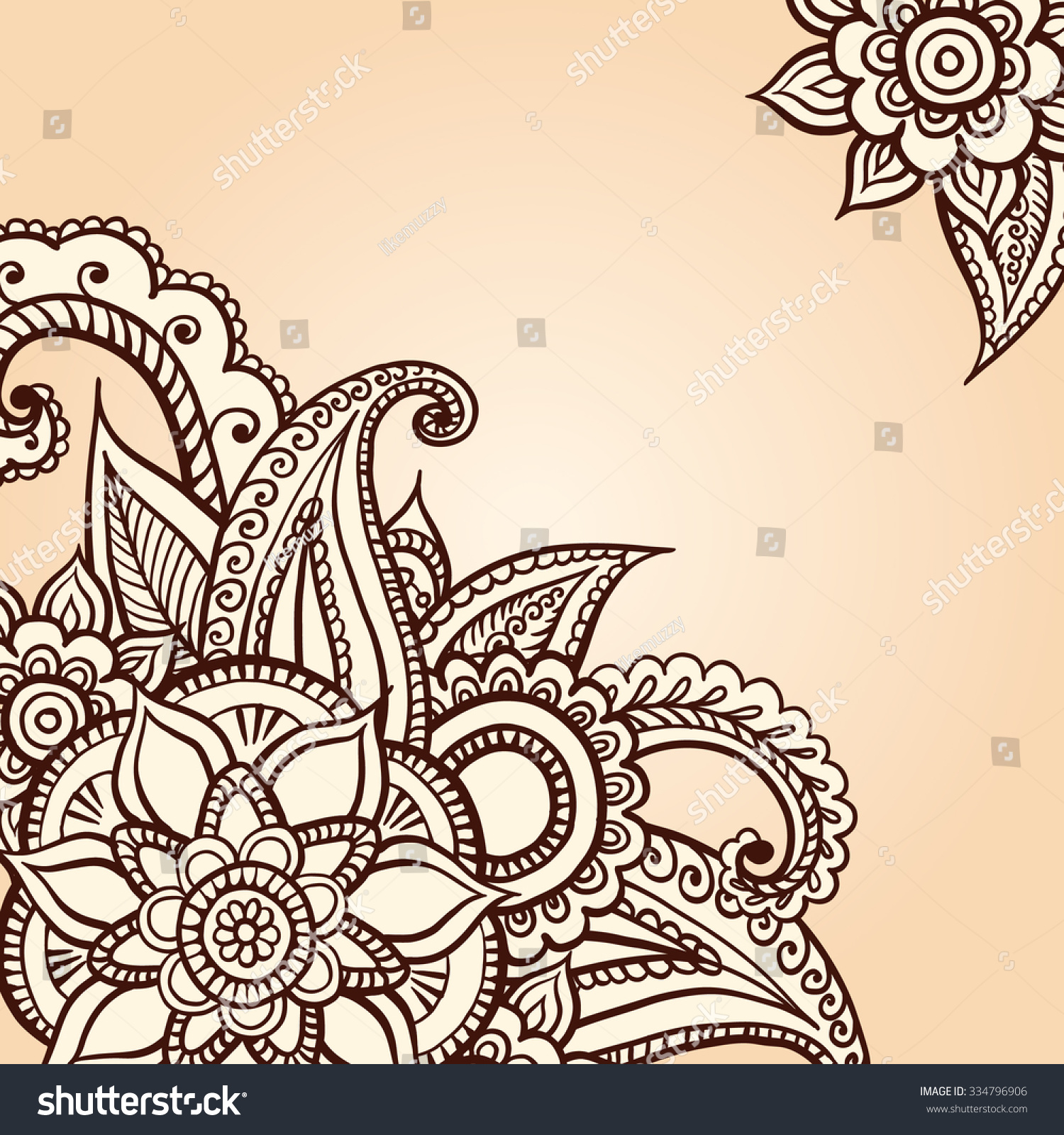 Mendy Greeting Card Wedding Invitation Card Stock Vector 334796906 ...