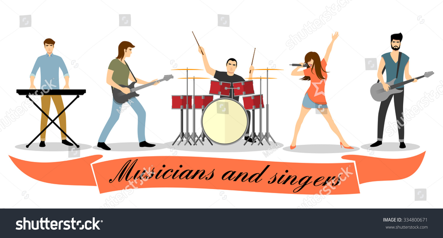 clipart of music bands - photo #30