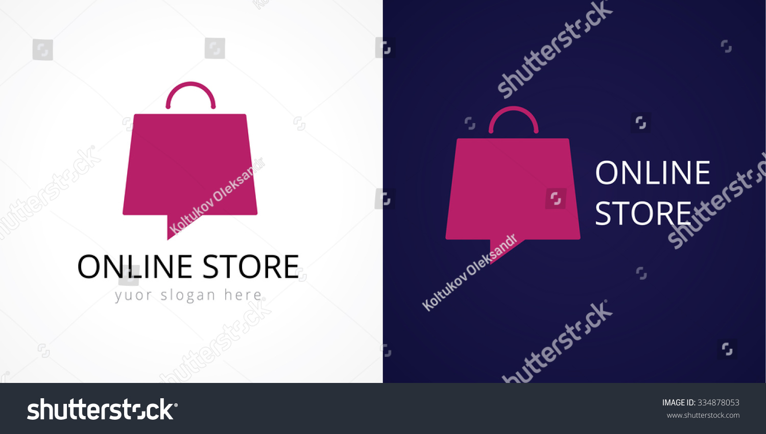 Shops Sale Discount Store Shop Web Stock Vector 334878053 ...