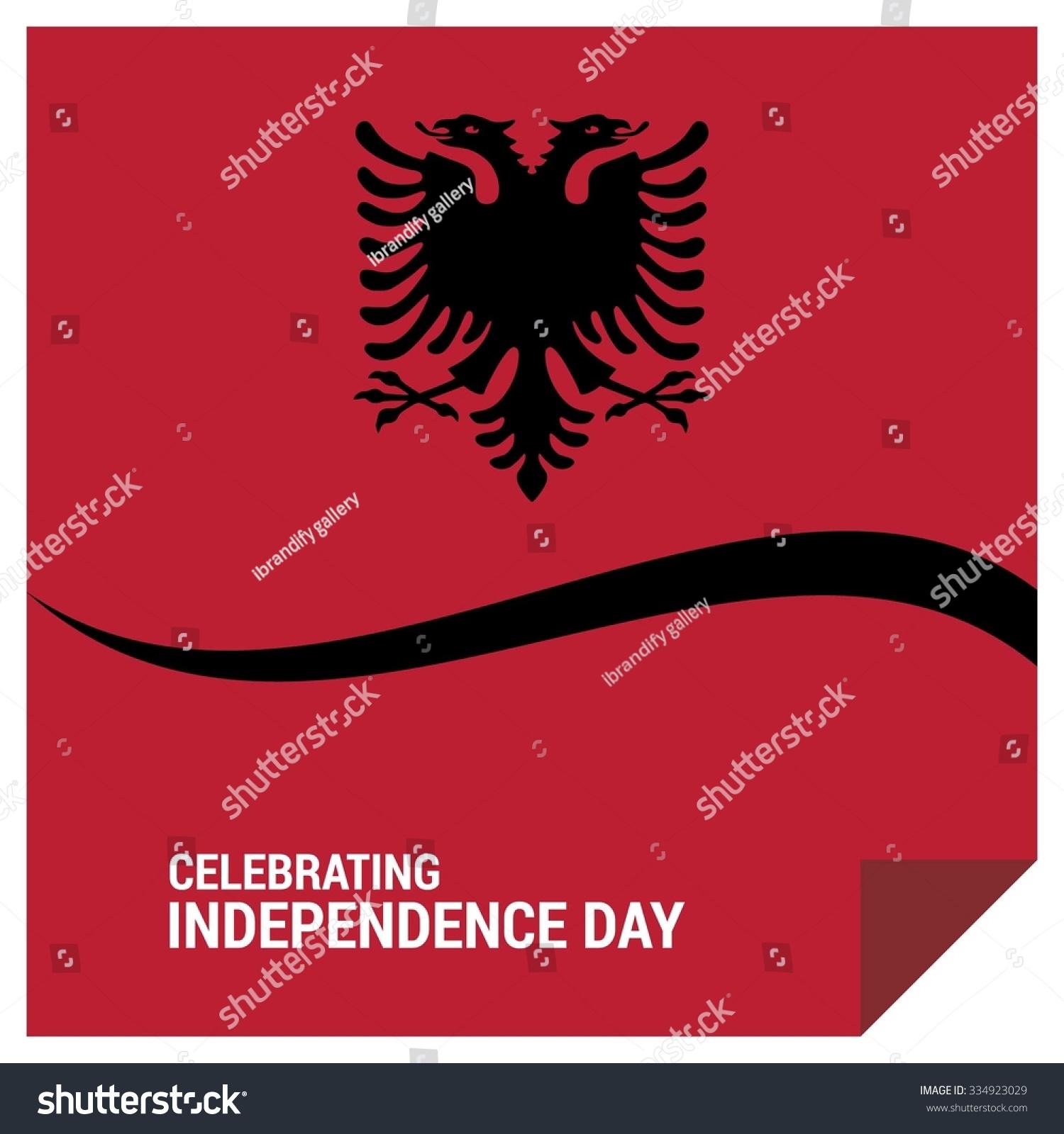 Famous Albanian Landmarks Stock Vector The Day Of Albania Vector Albanian