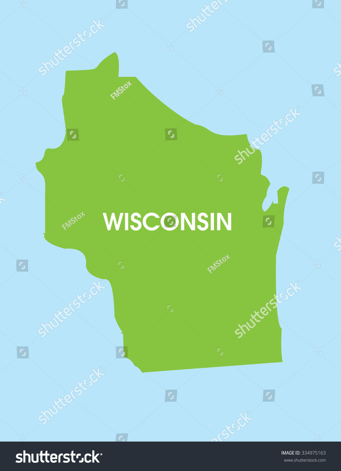 Wisconsin Usa Map tulane map