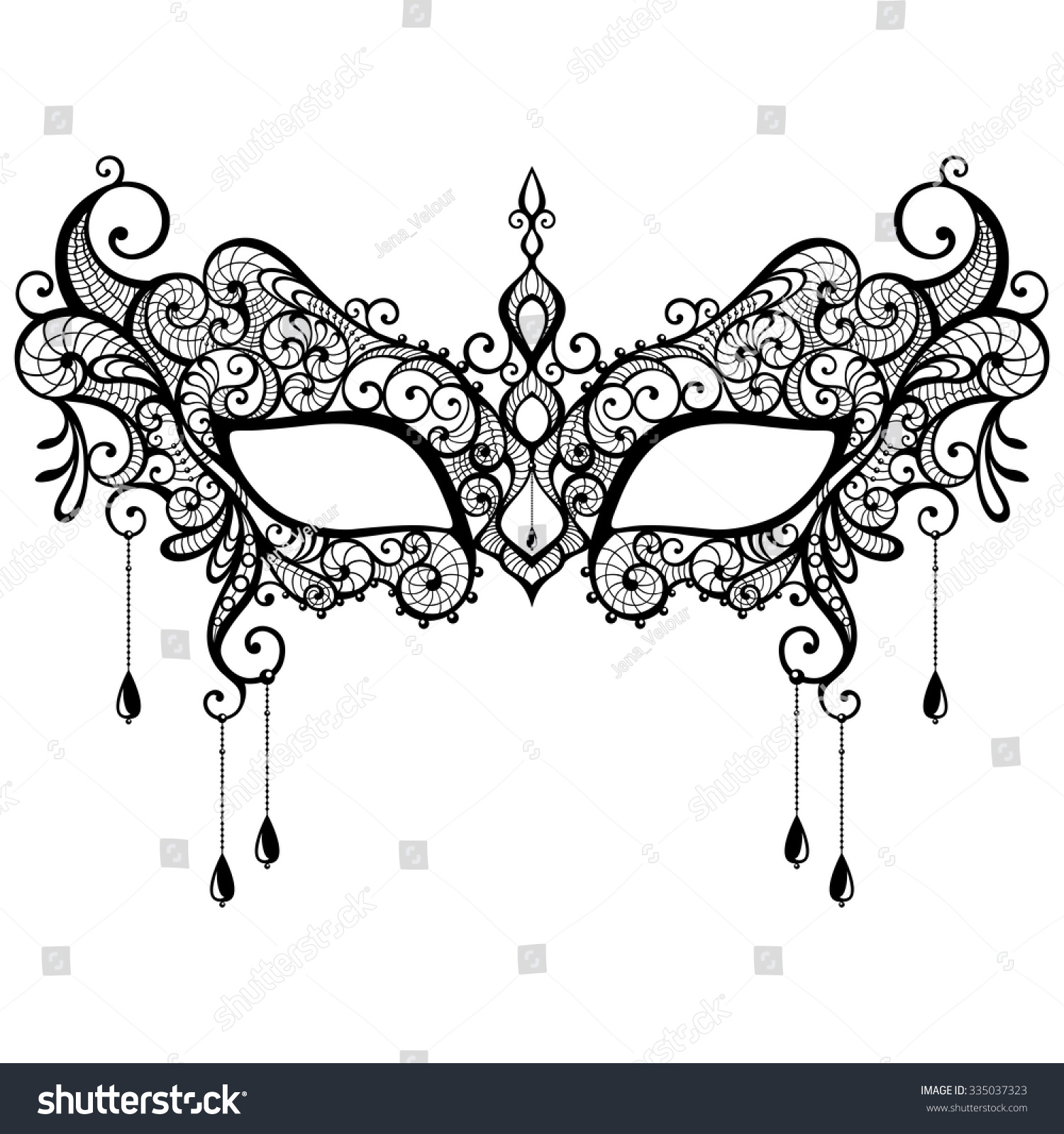 Old Fashioned Free Masquerade Mask Template Festooning - Wordpress ...
