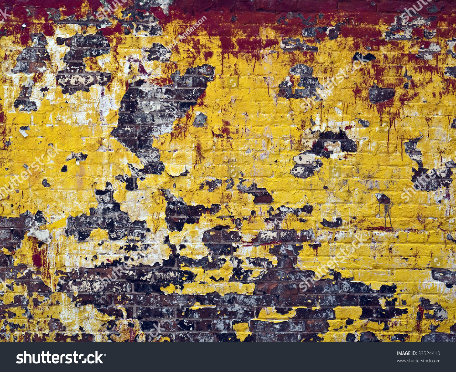 Old Builiding Wall Fading Chipping Paint Stock Photo (Royalty Free ...