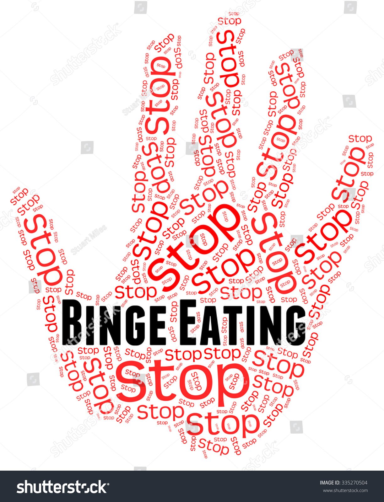 how to stop binge eating when high