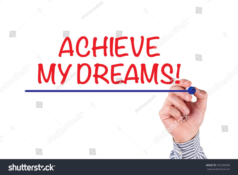 my dream writing