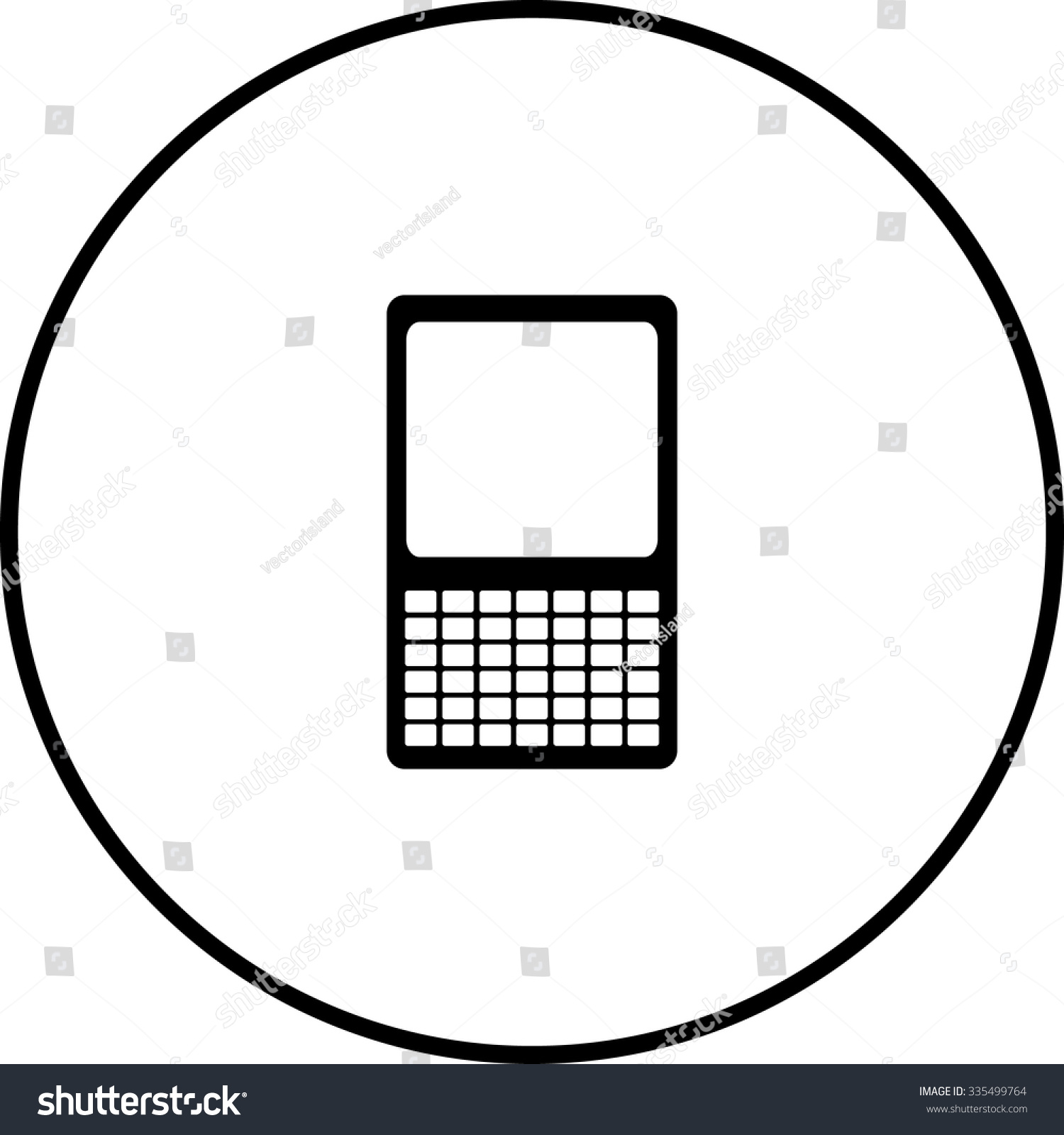 Mexican keyboard symbols gallery symbol and sign ideas mobile device keyboard symbol stock vector 335499764 shutterstock mobile device with keyboard symbol buycottarizona buycottarizona