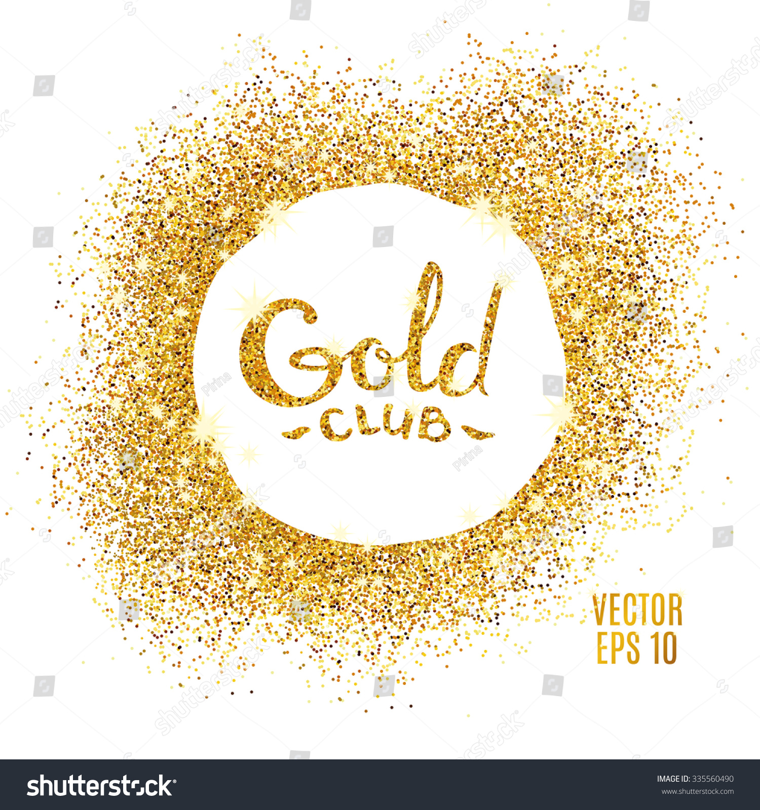 Gold glitter bright vector transparent background golden sparkles - Gold Sparkles On White Background Gold Glitter Background Golden Club Logotype Logo