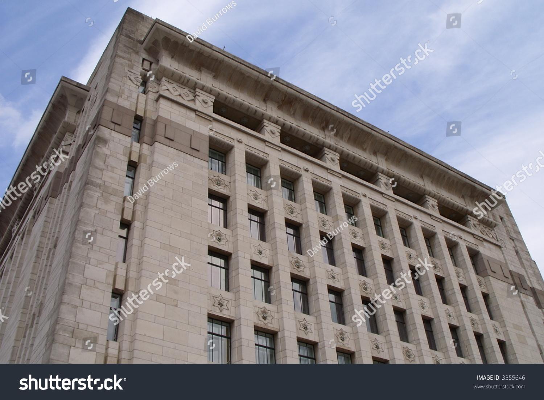 Classic building design stock photo 3355646 shutterstock for Classic building design