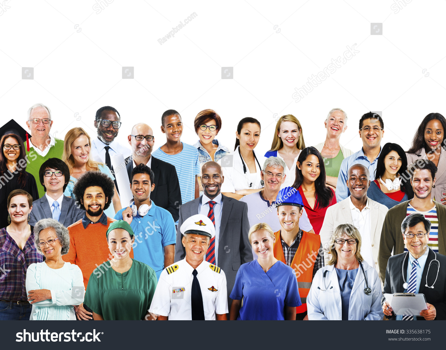 diverse people professional occupation society concept stock photo diverse people professional occupation society concept