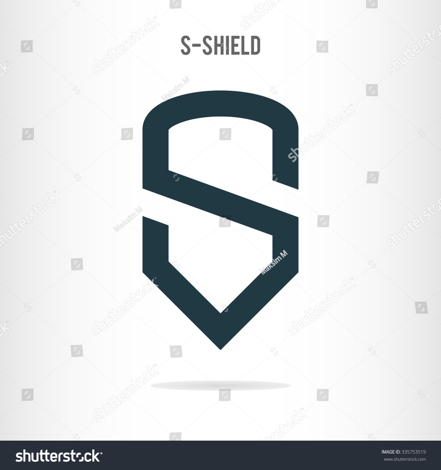 Letter S Logo Template Letter S Stock Vector (Royalty Free
