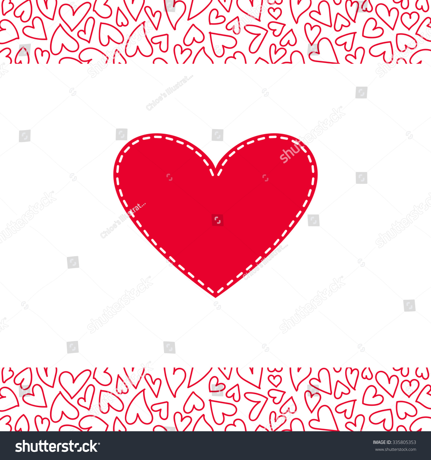 stock-vector-romantic-red-and-white-gree