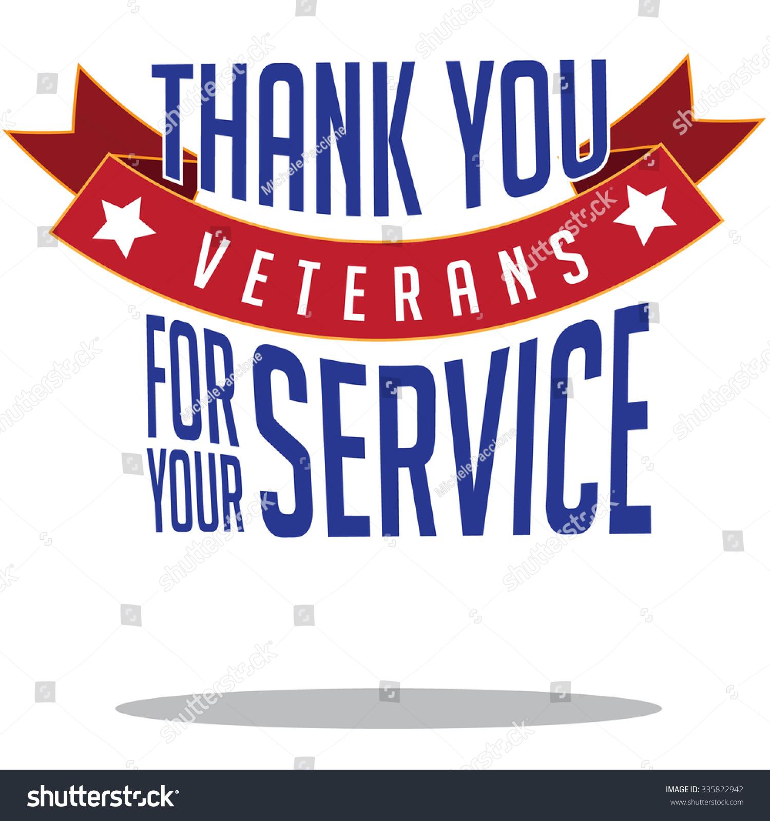 Veterans Day Thanks Design Eps 10 Vector Royalty Free Stock ...