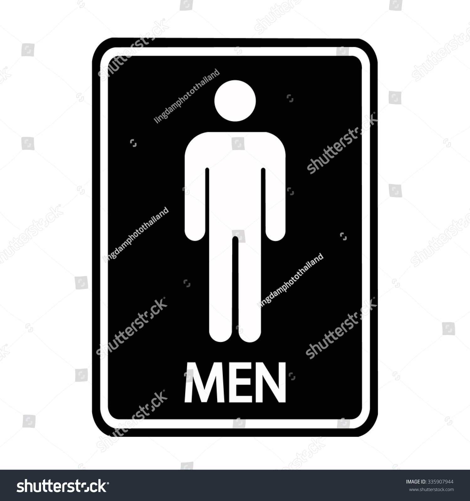 Royalty free a man toilet sign 335907944 stock photo avopix a man toilet sign 335907944 biocorpaavc Choice Image
