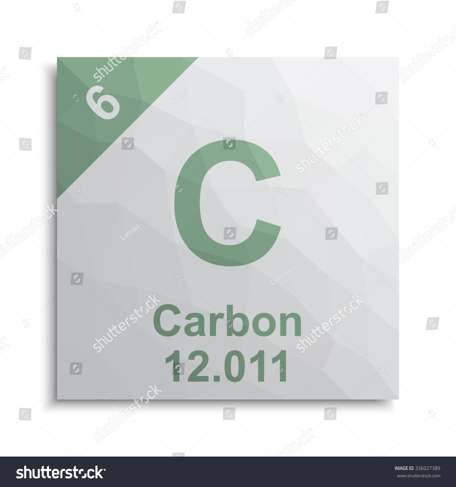 Carbon element periodic table stock vector 336027389 shutterstock carbon element periodic table gamestrikefo Gallery