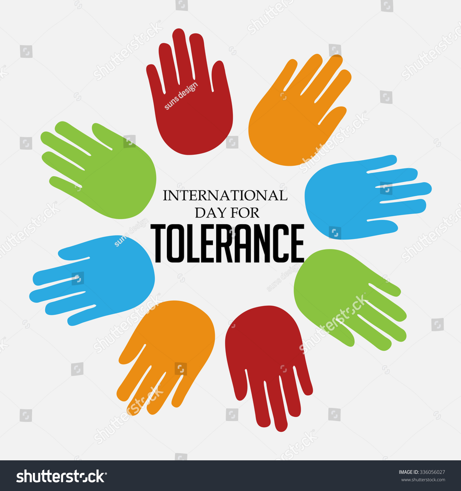 Vector illustration international day tolerance stock vector vector illustration of international day for tolerance biocorpaavc Image collections