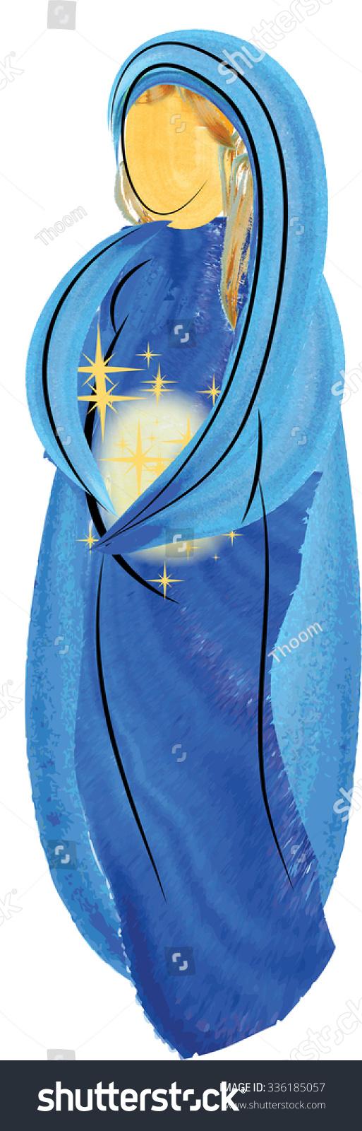 Abstract Virgin Mary 18