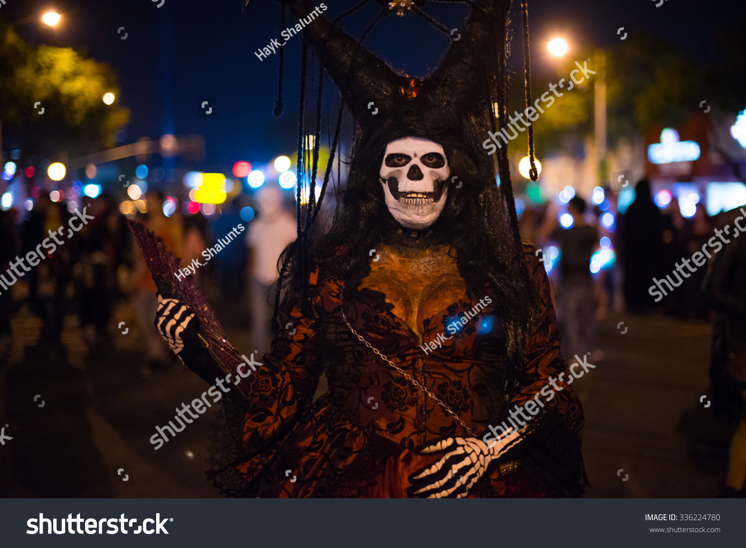 los angeles october 31 halloween parade stock photo (royalty free