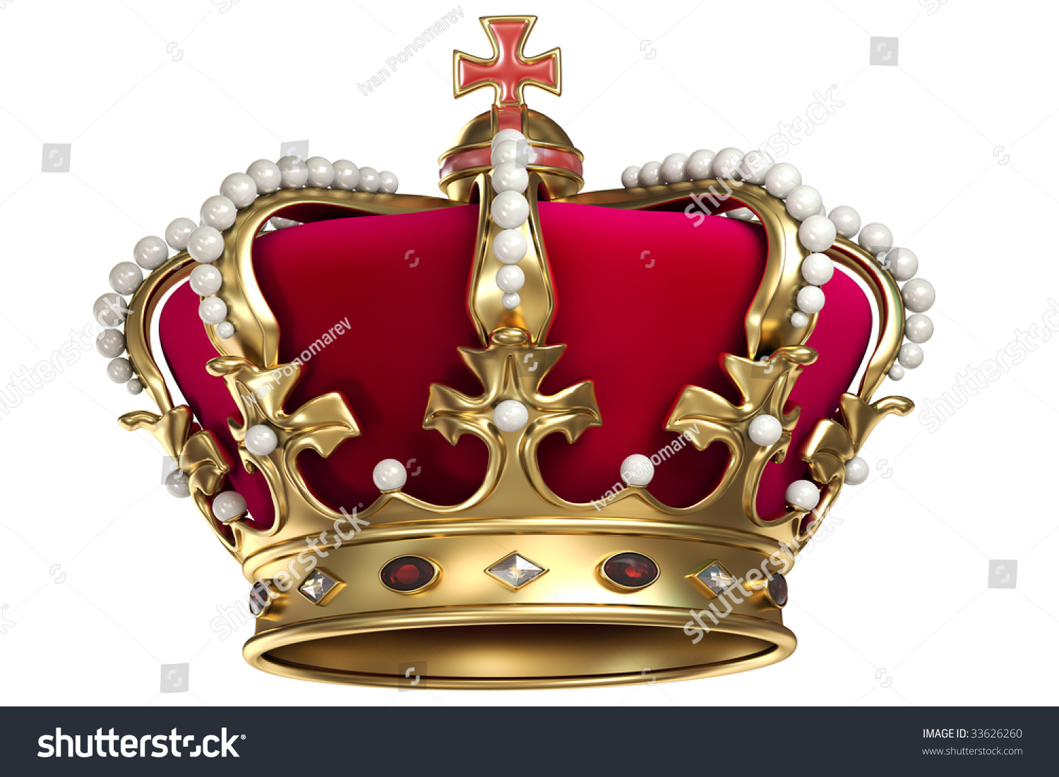 Gold crown background - photo#53