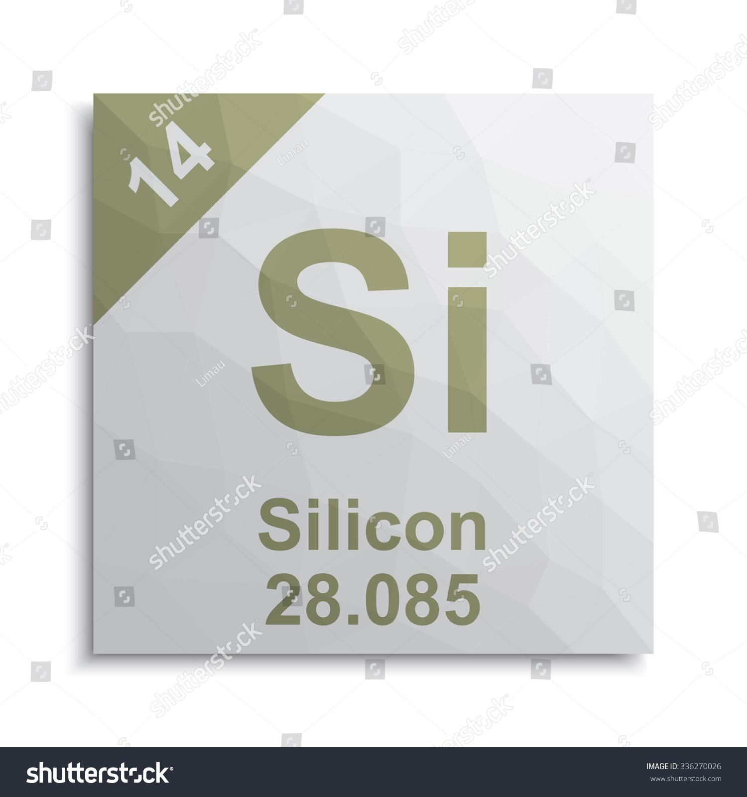 Silicon element periodic table stock vector 336270026 shutterstock silicon element periodic table buycottarizona