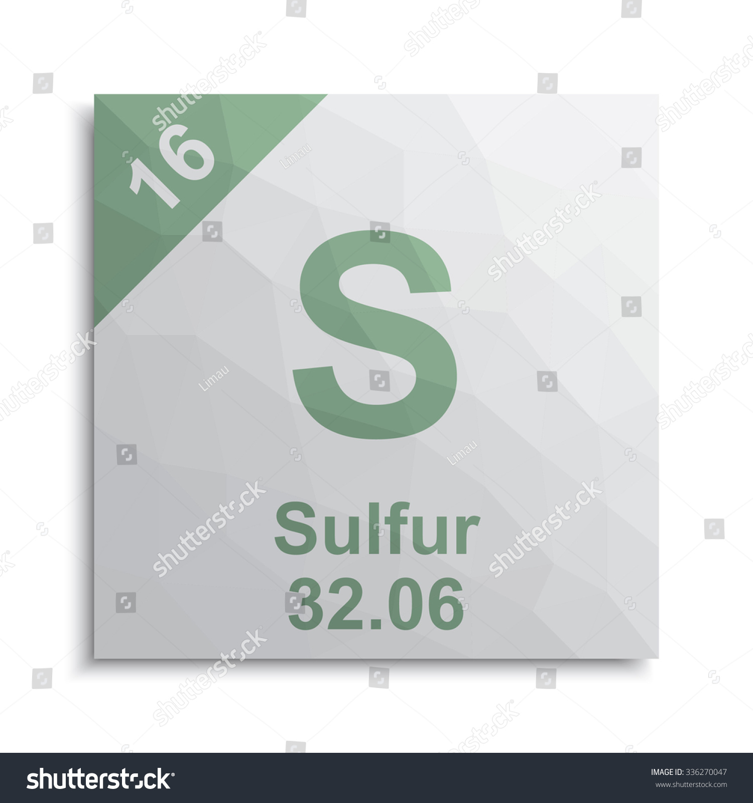 Sulfur element periodic table stock vector 336270047 shutterstock sulfur element periodic table buycottarizona Image collections