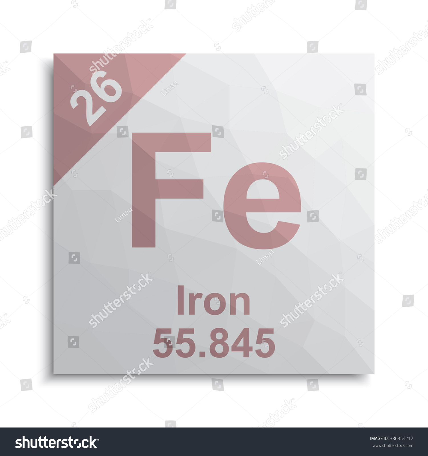 Iron element periodic table stock vector 336354212 shutterstock iron element periodic table gamestrikefo Choice Image