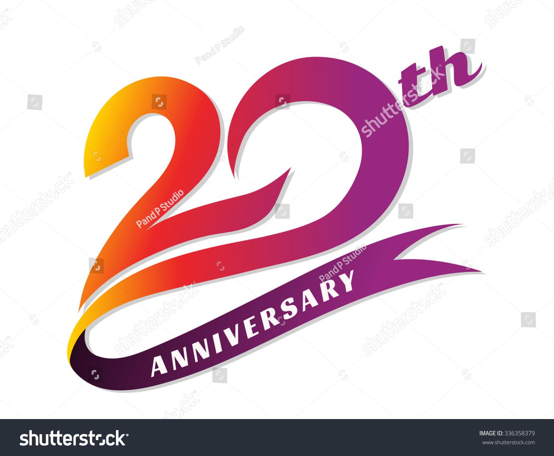 Anniversary Emblems 20 Anniversary Template Design
