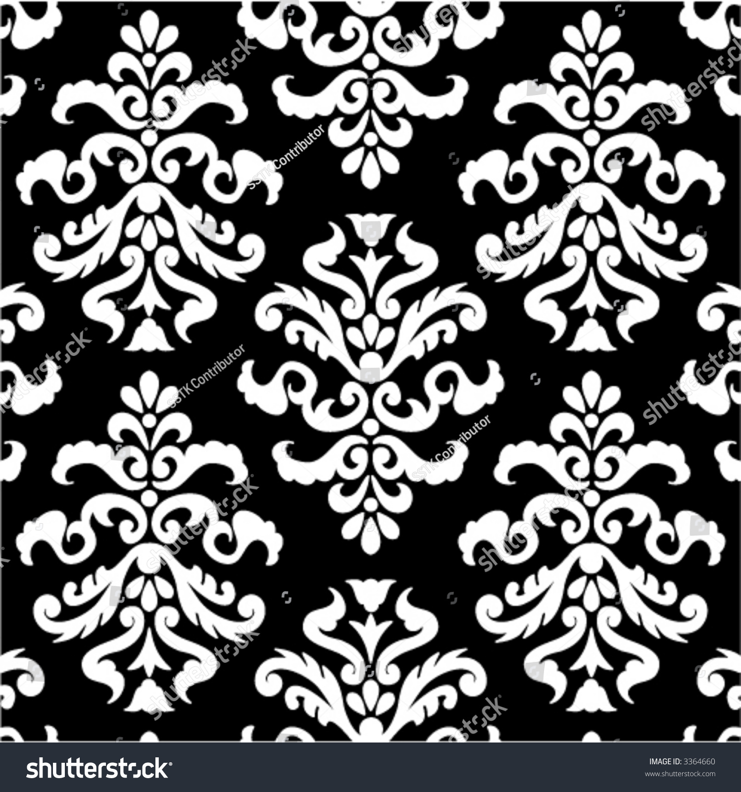FANCY ORNAMENT WALLPAPER VOL WHITE 01