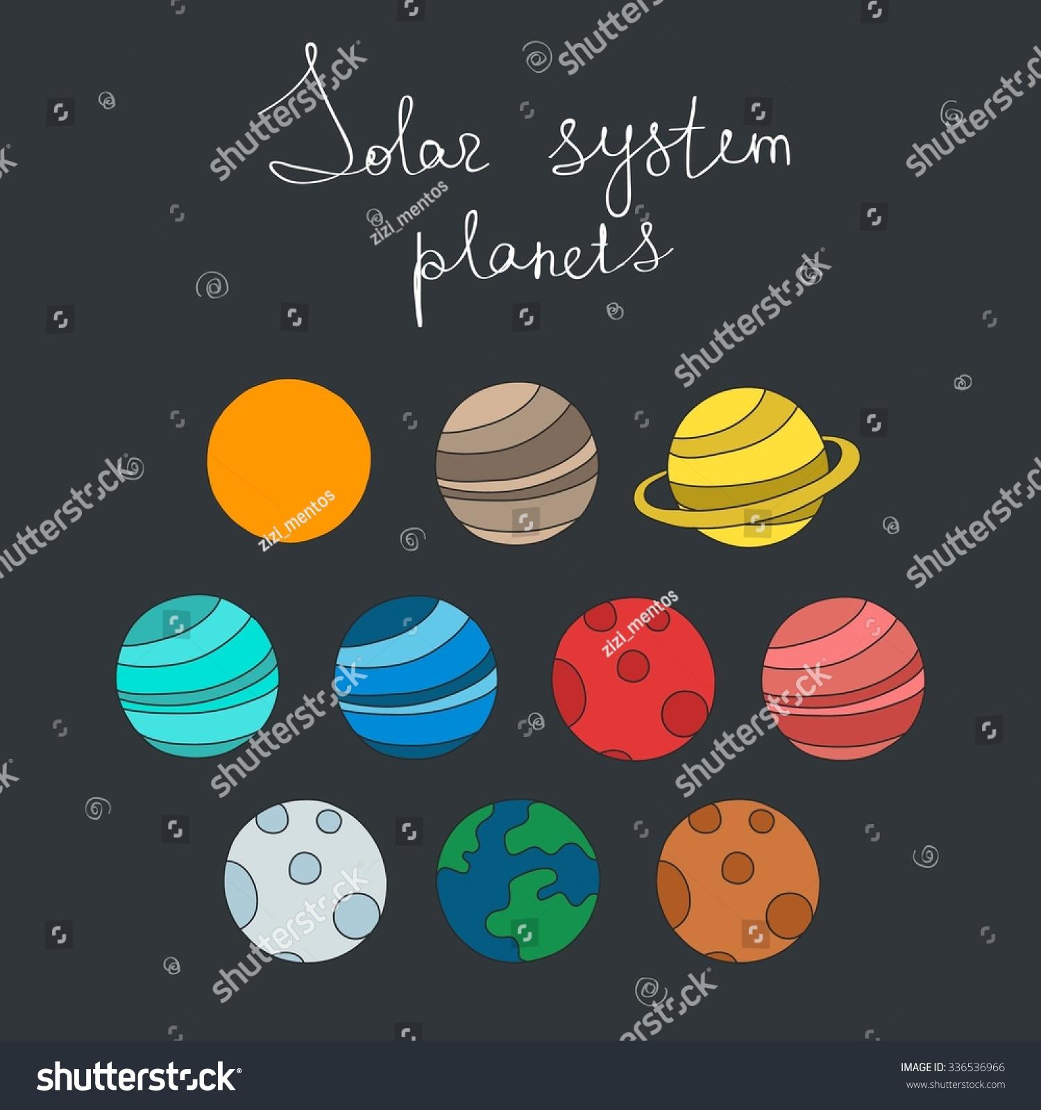 solar system vector - photo #38