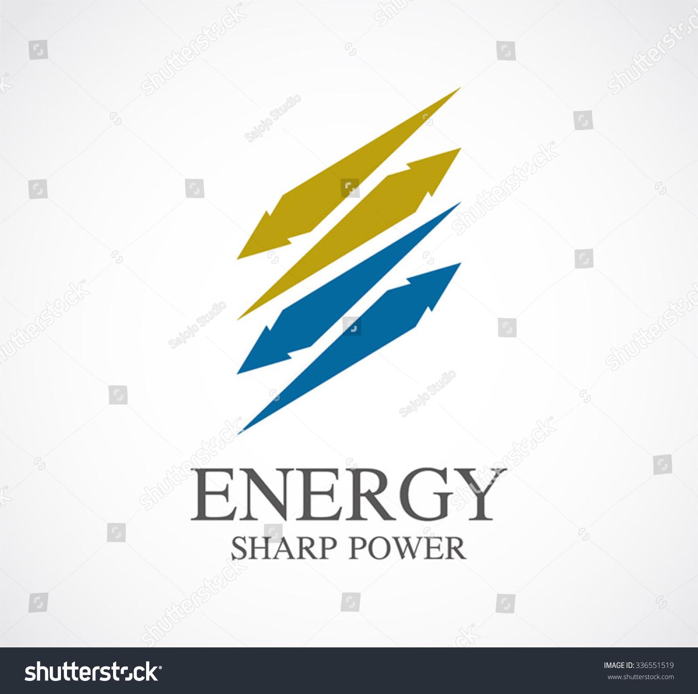 Energy Sharp Ribbon Flying Abstract Vector Stock Vector Royalty