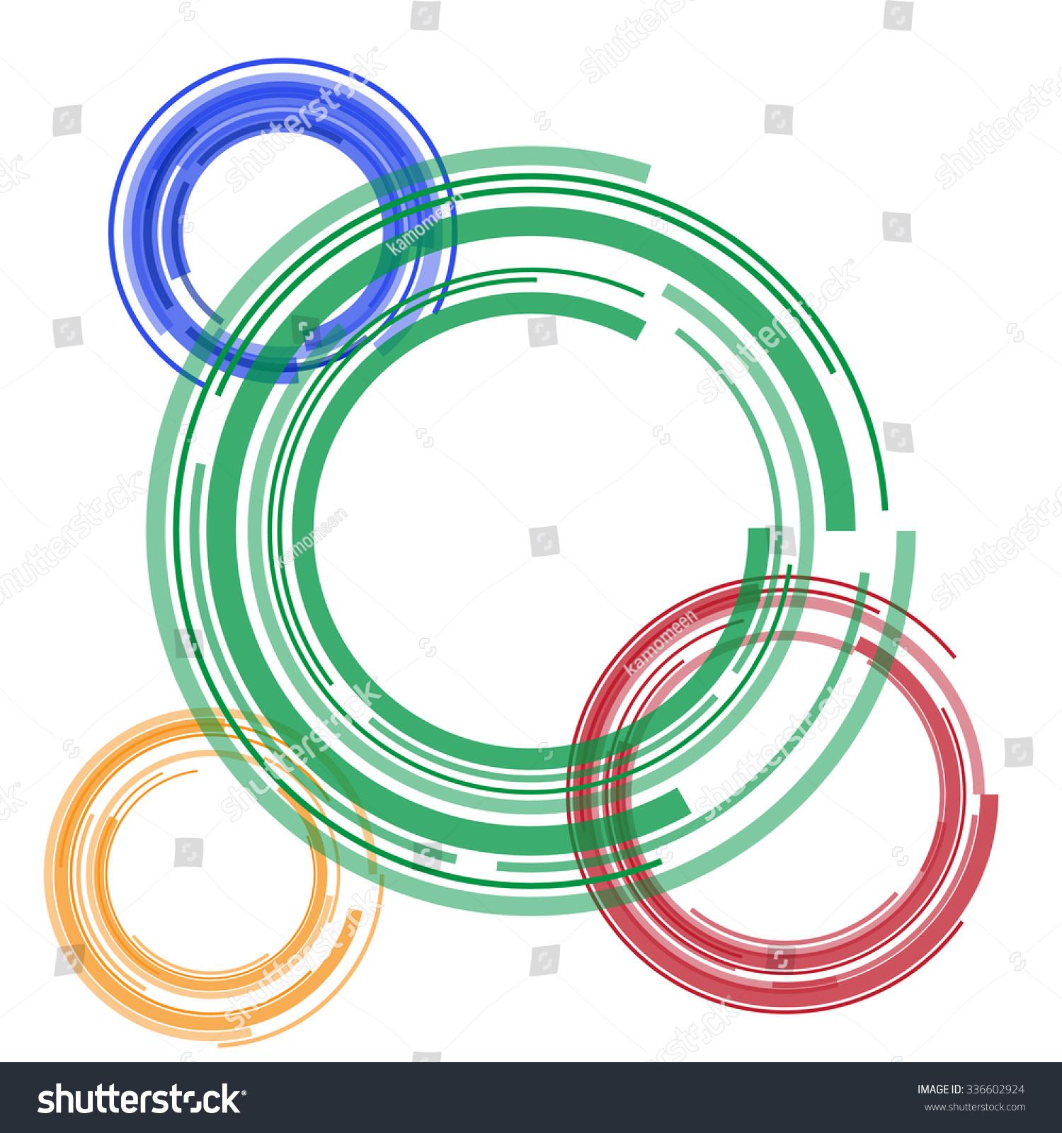 Circle Graphics Art Stock Vector 336602924 - Shutterstock