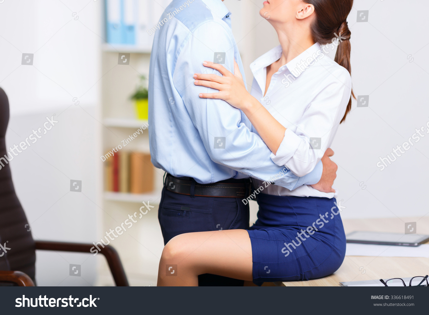 Office foreplay