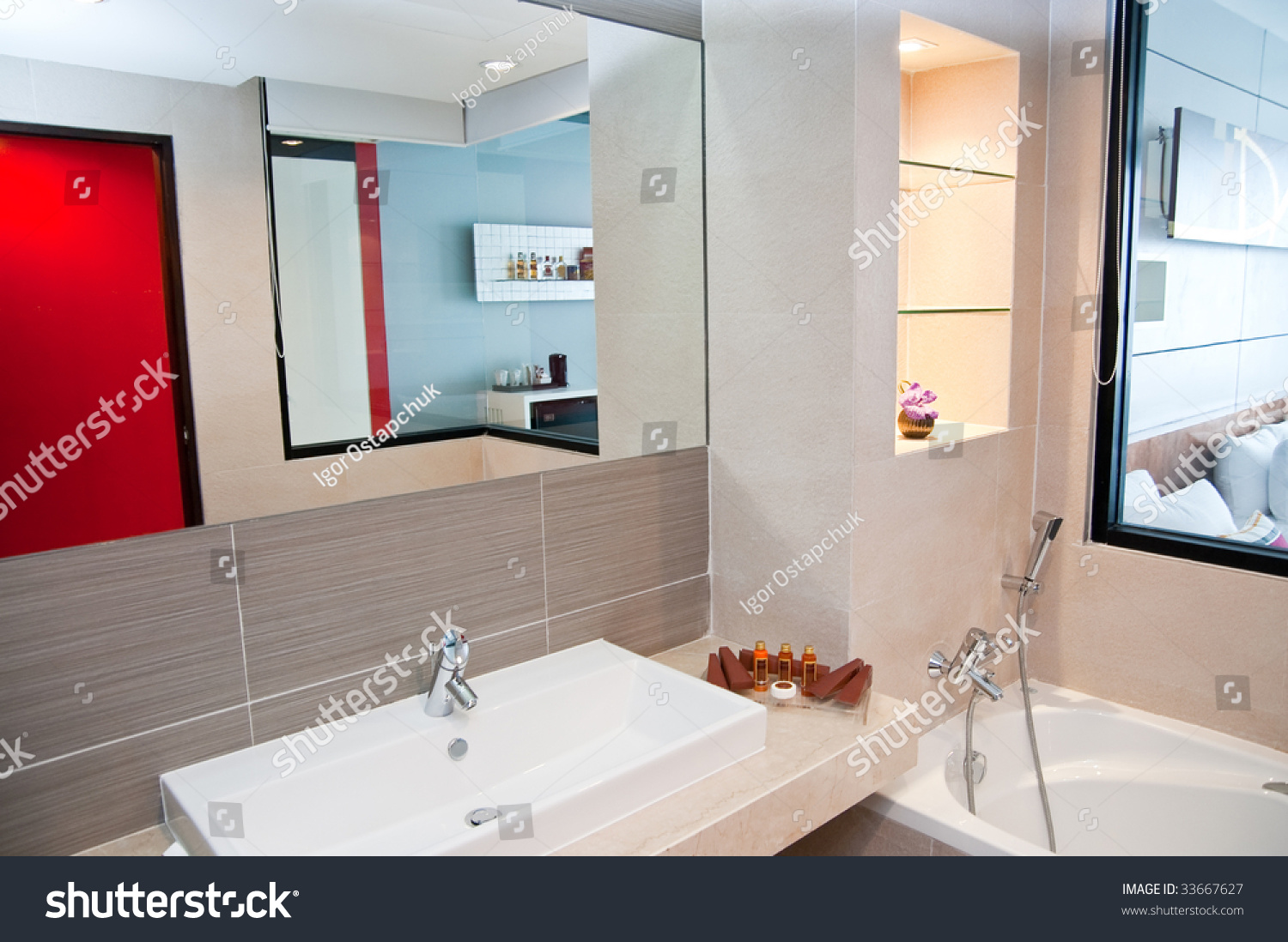 Mirror on a wall images home wall decoration ideas mirror on a wall choice image home wall decoration ideas mirror on wall bathroom stock photo amipublicfo Gallery