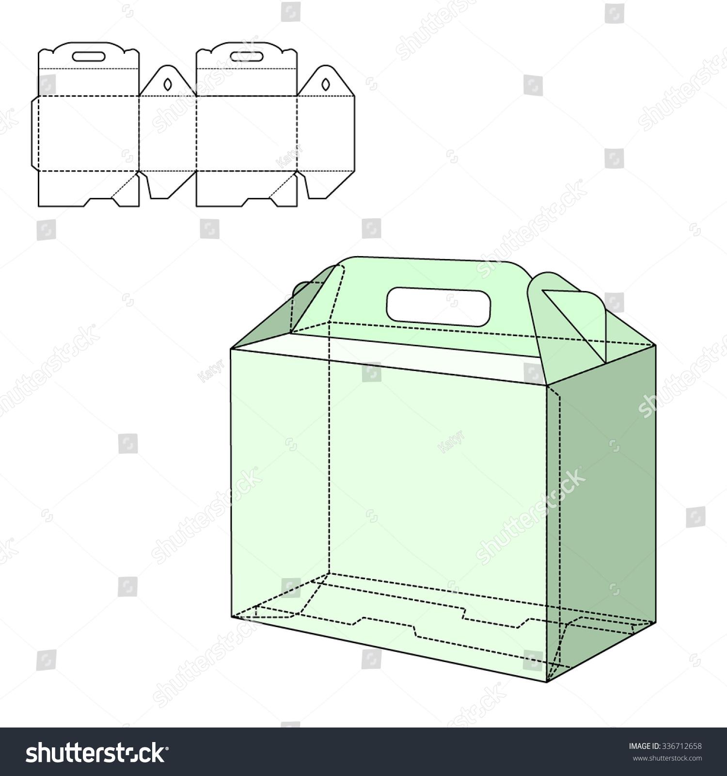 vector illustration gift craft box design stock vector 336712658 shutterstock. Black Bedroom Furniture Sets. Home Design Ideas